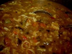 מרק ירקות קוביות עם גריסים (נוסטלגיה)