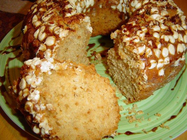 דבש תפוז ציפס לבן 2 - עוגת תפוזים בחושה עם שוקולדצ'יפס